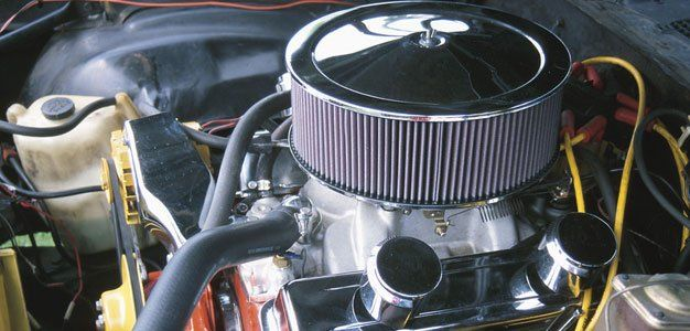 Car belt and engine