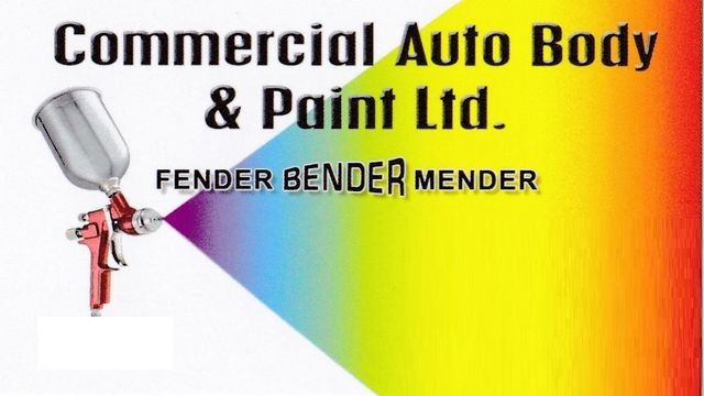 Commercial Auto Body & Paint Ltd - logo