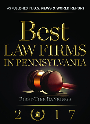 Best Law Firms in Pennsylvania - First Tier Rankings 2017