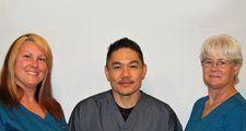 Dr. Lum's friendly medical assistant and nurse