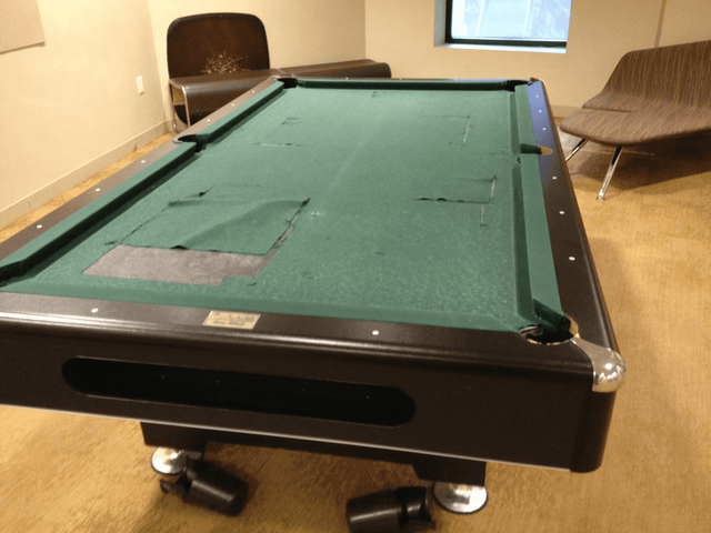 Boston Billiard Emporium Table Restoration Somerville MA - Lucite pool table