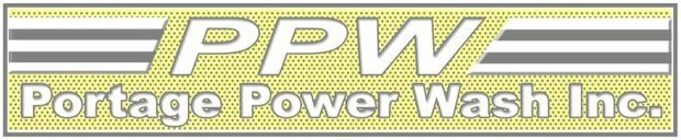 Portage Power Wash - Logo