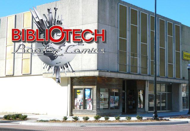 Bibliotech Books & Comics store