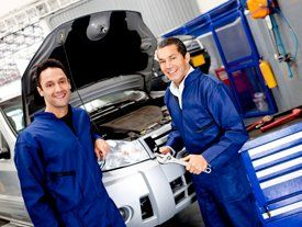 ASE-Certified Auto Technicians