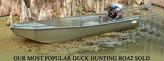 Duck Hunting Boat