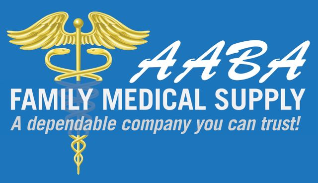 AABA Family Medical Supply - Logo