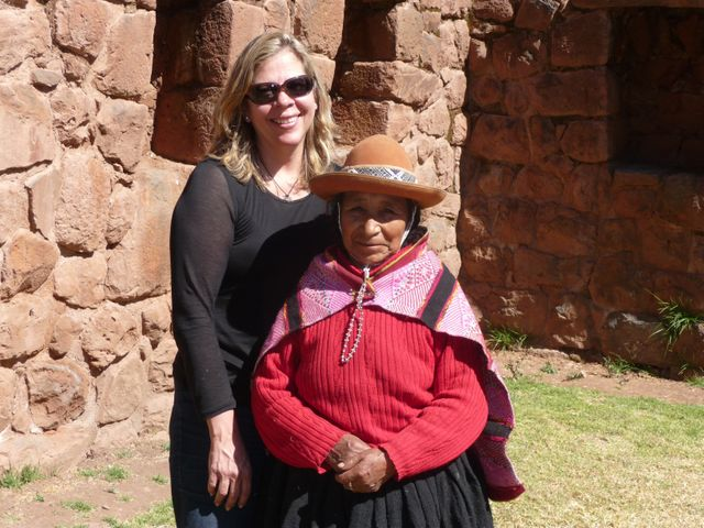 Laurie and woman shaman