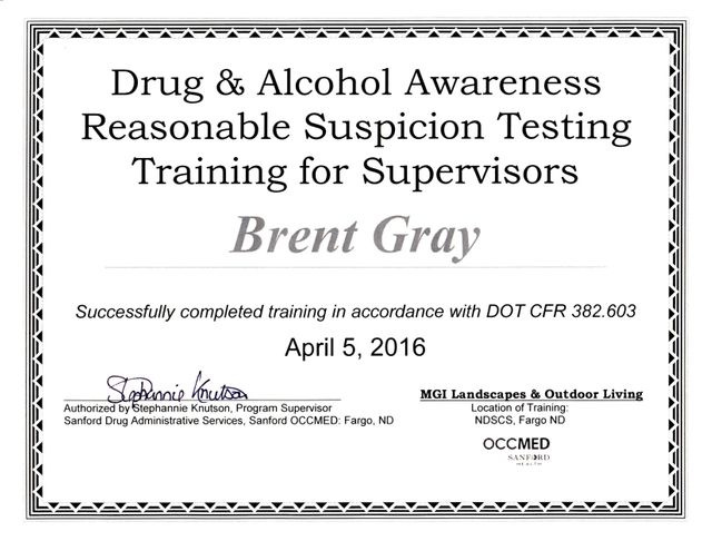 Brent Drug & Alcohol