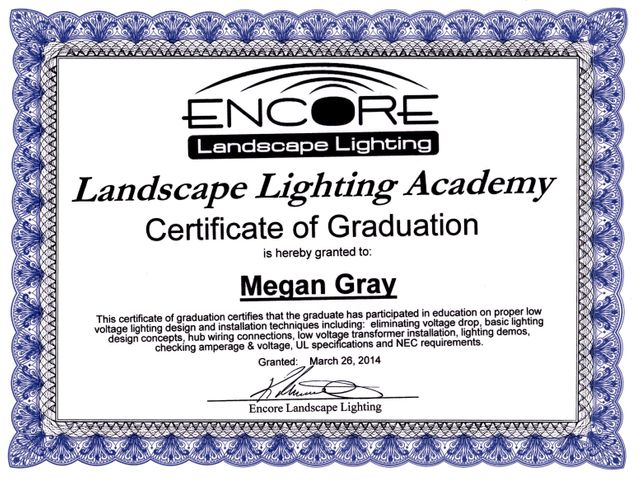 Megan - Lighting