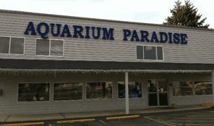 Aquarium Paradise storefront