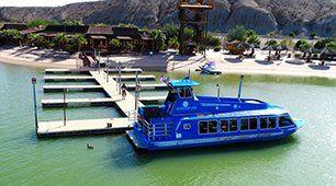 boat on dock