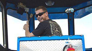 Captain Sean McKinney smiling