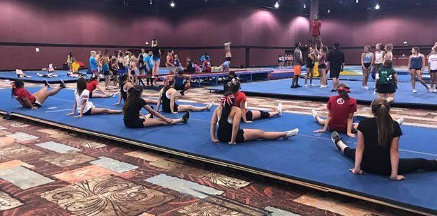 Cheer leading class by Five Star Athletics