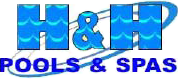 H & H Pools & Spas - Logo