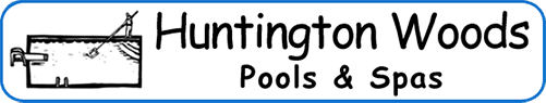 Huntington Woods Pools & Spas - Logo