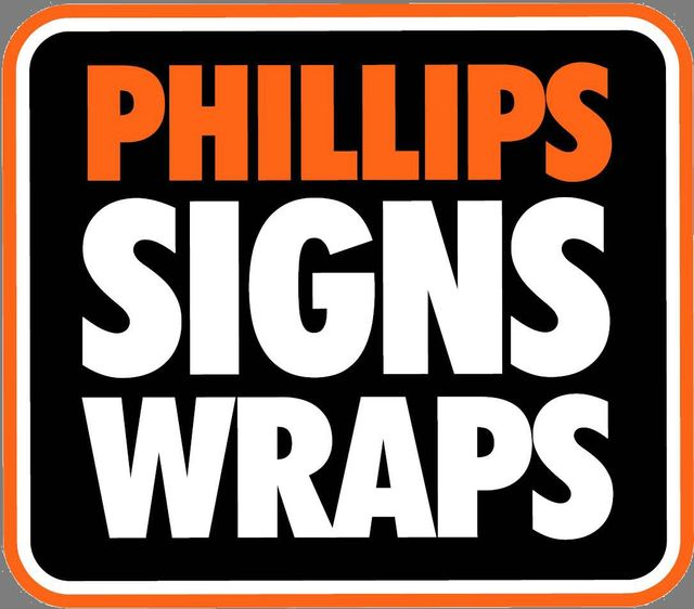 Phillips signs graphics printing service evansville in