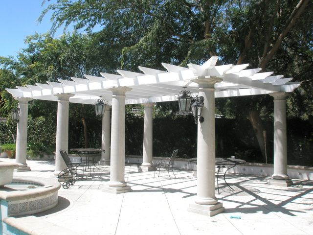 Pergola - Pergolas And Patios Vinyl North Hollywood, CA