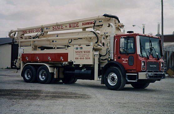 Statewide Concrete Pumping | Pump Sales | Columbus, OH