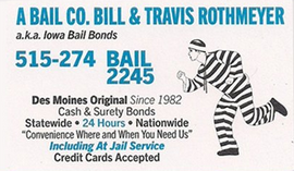 Service areas mobile bail bond service des moines ia rely on us as were iowas most experienced and longest licensed bondsman thats not all we have been in business since 1982 we are available 247 for colourmoves