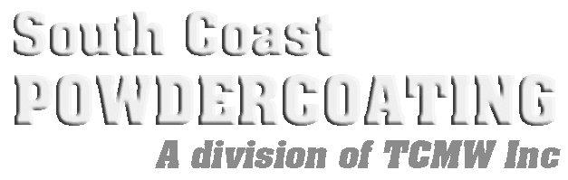 South Coast Powdercoating (a division of TCMW Inc) logo