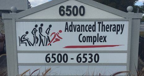 Advanced Therapy Sign Front