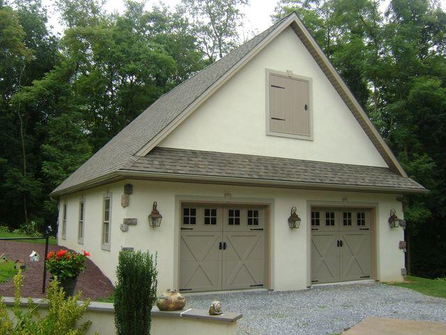 Detached Garage Built In Lancaster Pa: Custom Garage Addition