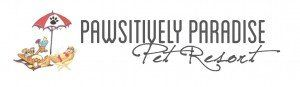 Pawsitively Paradise Pet Resort logo