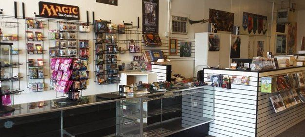 Board games, role-playing games, miniature games, and card games