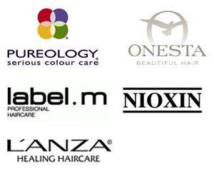 pureology, onesta, label.m, l`anza, Nioxin