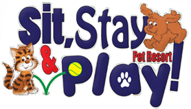 Sit Stay & Play Pet Resort Logo