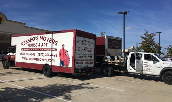 Reeseo's Movers | Long-Distance Moving | Fort Worth, TX