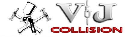 V & J Collision Inc - logo