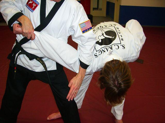 tae kwon do class