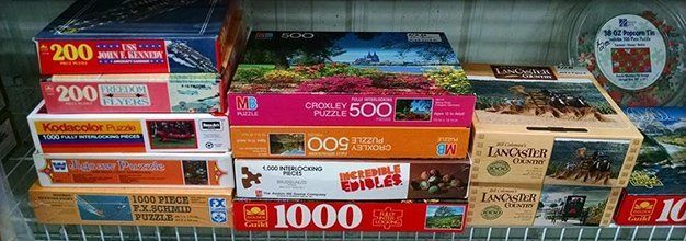 Great selection of puzzles