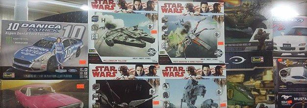 Model kits from movies