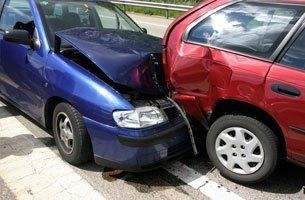 Car collides to another car