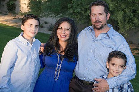 Michael Sullivan and Family
