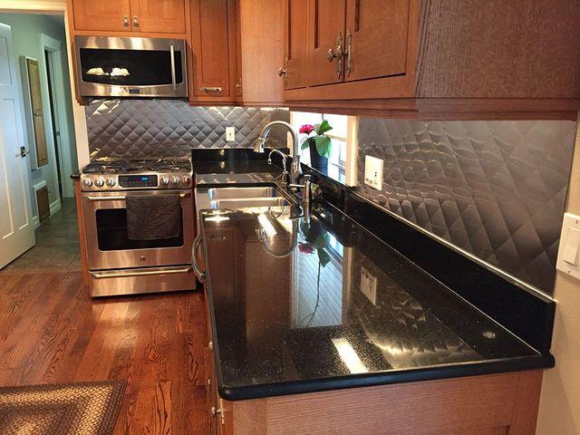 Stainless Steel Countertops Bellingham Wa Custom Kitchen