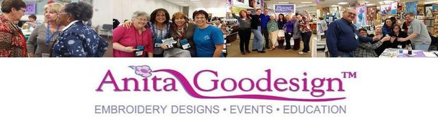 Anitia Goodesign Embroidery workshop