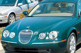 teal jaguar car
