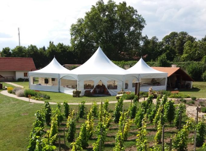 Tent for grand party