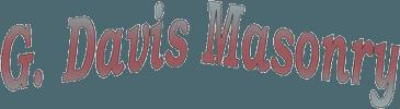 G. Davis Masonry - Logo