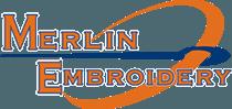 Merlin Embrodiery, LLC - Logo