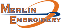 Merlin Embrodiery, LLC - Logo