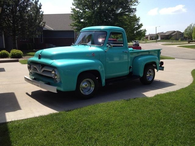 55 Dodge in restoration process