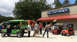 Golf Car Ranch shop