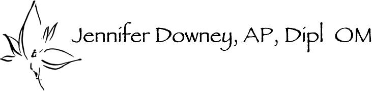 Jennifer Downey, AP, Dipl OM Logo