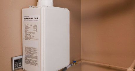 Tankless water heater services and installation