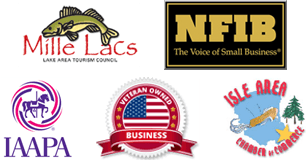 Mille Lacs Area Tourism, NFIB, IAAPA, Vet Owned Business, & Isle Area Chamber