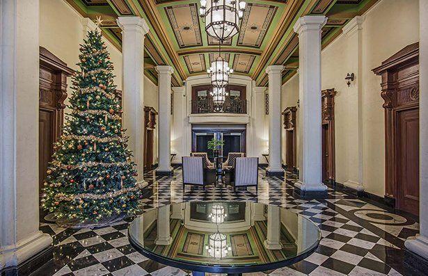 Temple lofts lobby